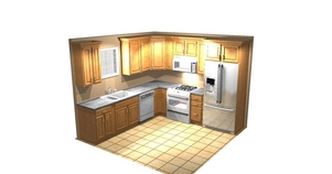 3 handsome kitchen cabinets chicago elk two arabian for Kitchen cabinets 60007